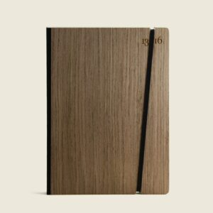 13/16 notebook wood