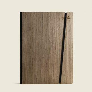 agende personalizzate con copertina in legno