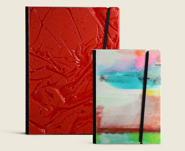 Agende con copertine d'artista personalizzate in silicone