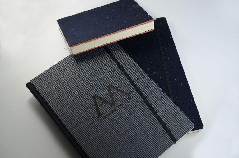Agenda copertina in tessuto personalizzata