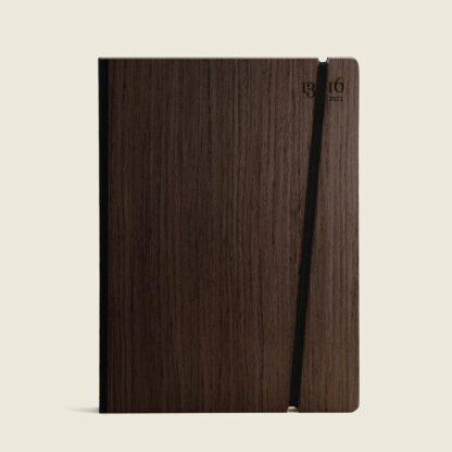Customizable diary wood-ebony