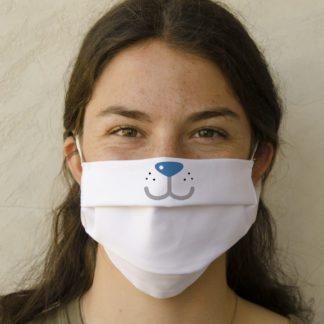 mascherina in tessuto lavabile e personalzizabile