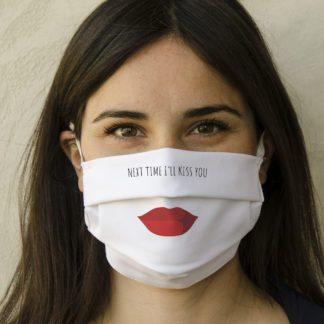 Mascherina bocca personalizzabile in 100% cotone