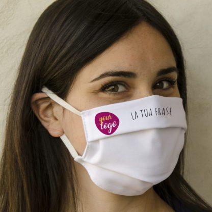 mascherina personalizzata in cotone